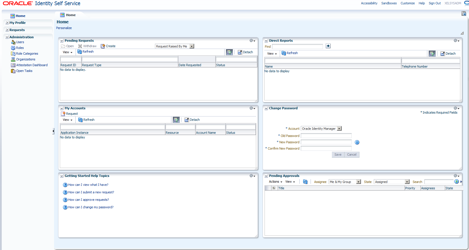 How Oracle Identity Manager 11g Release 2 Works on the Presentation