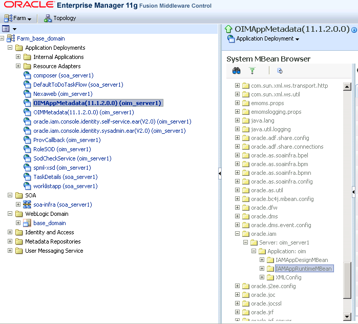 Oracle Identity Manager 11gR2