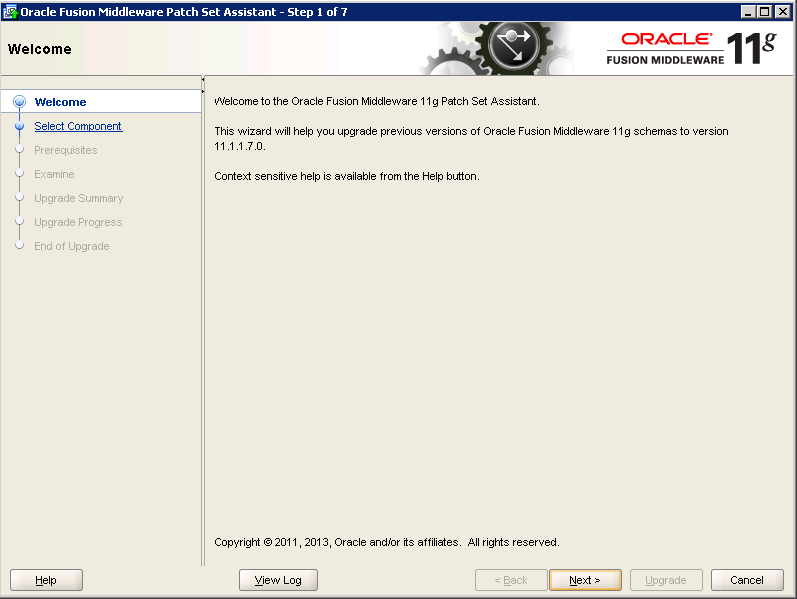 Oracle-Identity-Manager-11gR2-Upgrade OPSS schema 1