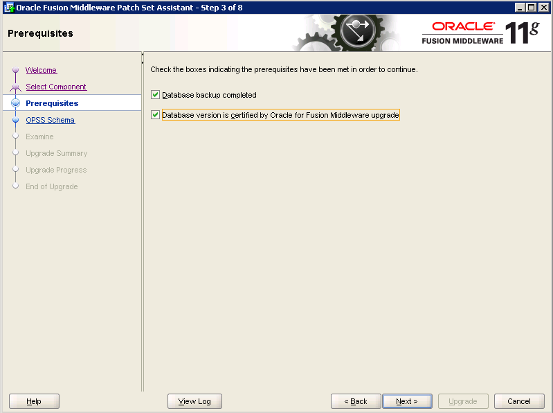 Oracle-Identity-Manager-11gR2-Upgrade OPSS schema 3