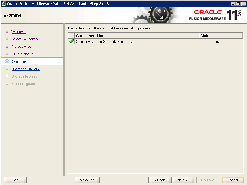 Oracle-Identity-Manager-11gR2-Upgrade OPSS schema 5