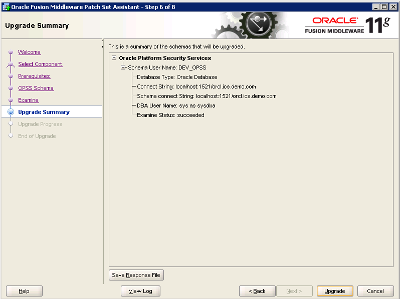 Oracle-Identity-Manager-11gR2-Upgrade OPSS schema 6